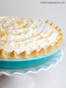 Allergy Friendly Coconut Cream Pie {Gluten Free, Sugar Free}