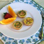 Smoked Salmon Quiche Bites and a Bite-Sized Brunch Giveaway