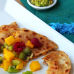 Leftover Remix: Garlic Pork Quesadillas with Mango Salsa