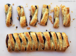 Easy 3-Ingredient Lemon Blackberry Braid