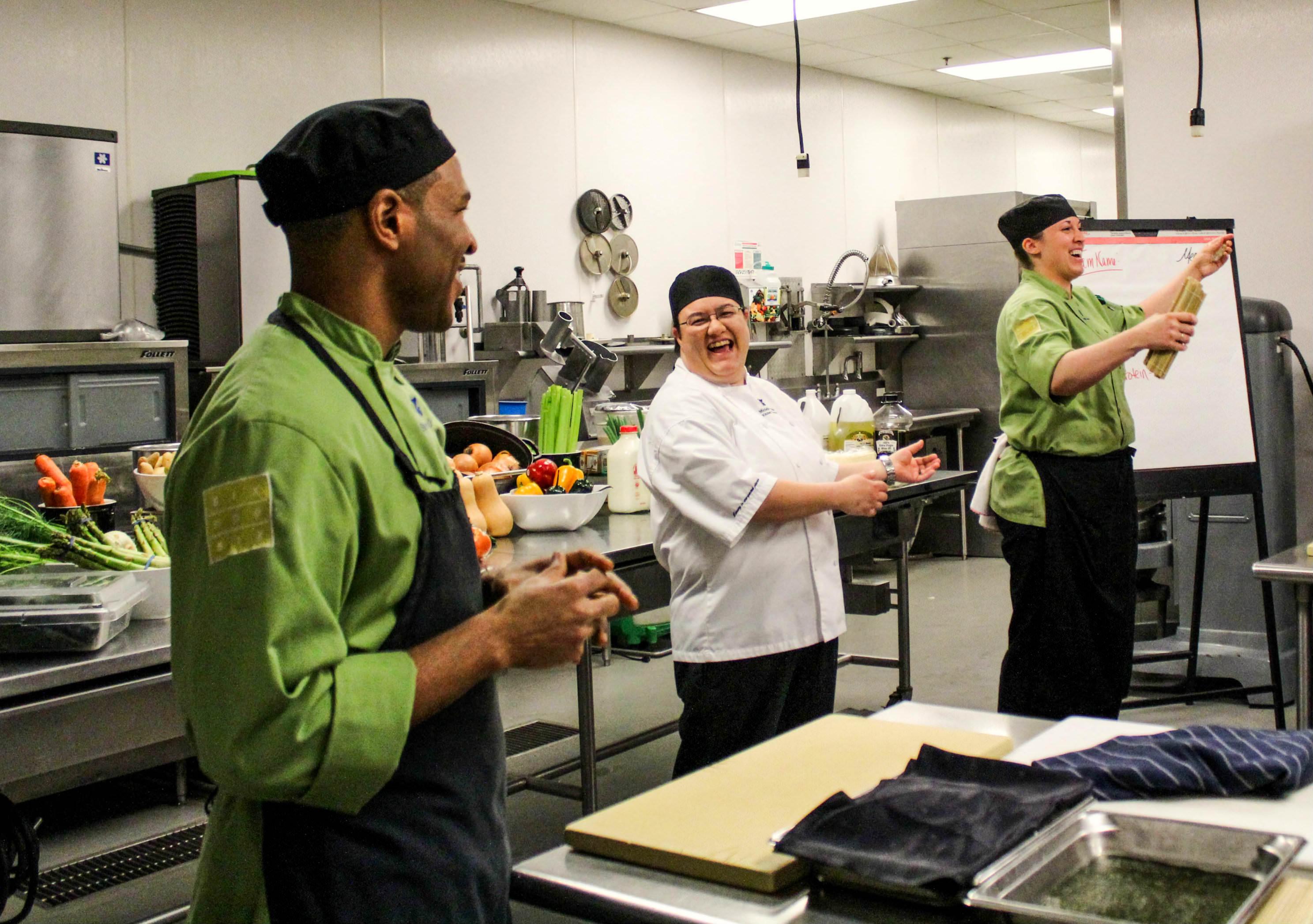Happy Chefs make great mentors.