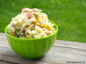 Dill Potato Salad – A Lightened Up Picnic Staple