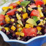 Black Bean Corn Salad {Healthy Recipes}