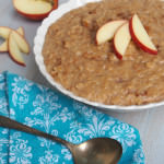 Slow Cooker Apple Cinnamon Steel Cut Oats Recipe