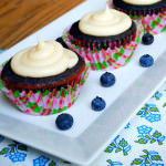 A BIG Thank You, a Few Notes, and Cheryl's Blueberry Cupcakes with Lemon-Tea Infused Frosting