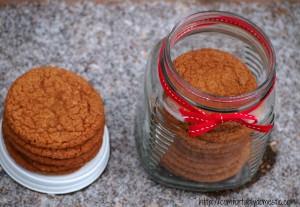Old Fashioned Gingersnap Cookies {Cookie Week 2012}