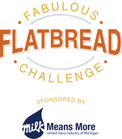 Fabulous Flatbread Challenge Logo | Milk Means More