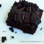 Allergy-Friendly Brownies {Gluten Free, Egg Free}