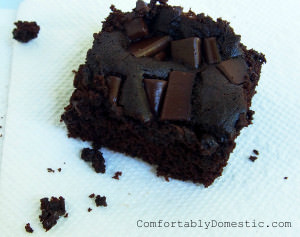 Allergy-Friendly Brownies {Gluten Free, Egg Free}