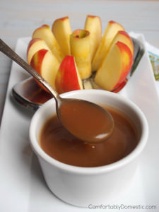 Salted Caramel Fruit Dip
