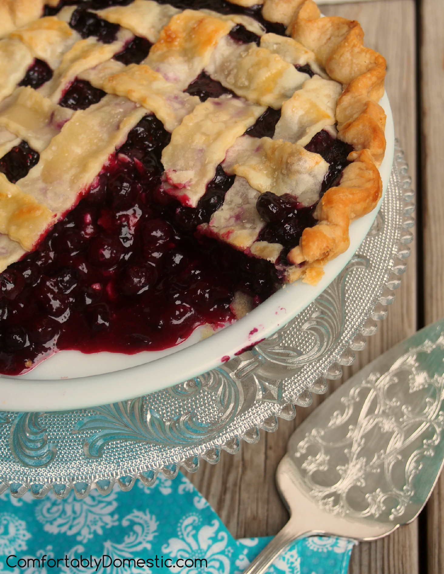 Best Pie Recipes The Best Blueberry Pie Recipe Comfortably Domestic