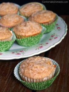 Oat Bran Crumb Muffins