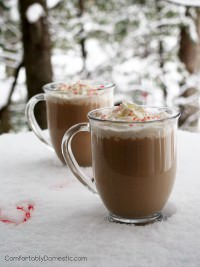 Peppermint Mocha Latte (w/ Skinny Recipe Option!)