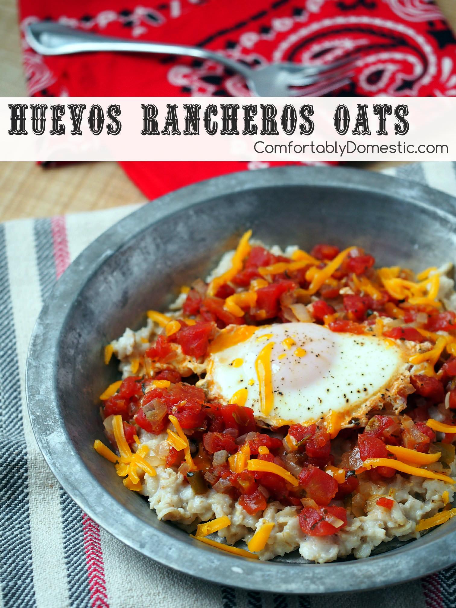 huevos-rancheros-oats-savory-ranch-oats | ComfortablyDomestic.com