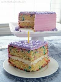 Funfetti Sprinkle Cake