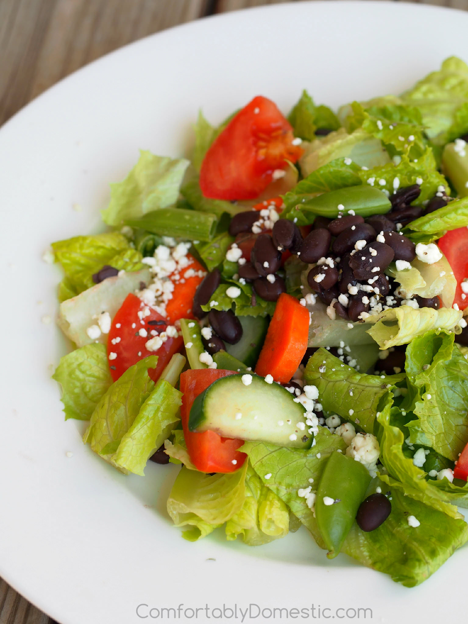 Garden-Black-Bean-Salad-Lemon-Vinaigrette