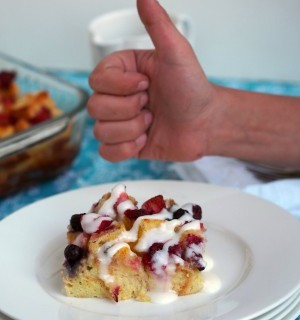 Mixed-Berry-Baked-French-Toast-Casserole | ComfortablyDomestic.com