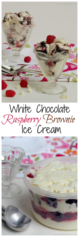 White-Chocolate-Raspberry-Brownie-Ice-Cream   ComfortablyDomestic.com