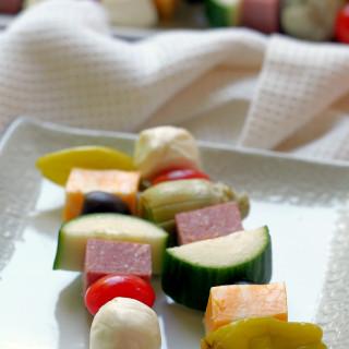 Antipasto-Salad-Skewers | ComfortablyDomestic.com