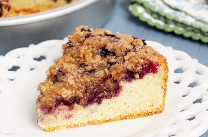 Gluten-Free-Blueberry-Buckle-Coffee-Cake | ComfortablyDomestic.com