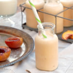 Honey Roasted Peach Smoothies