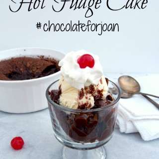 Hot-Fudge-Dump-Cake Rich chocolate cake that makes a warm, decadent fudge sauce as it bakes. Hot Fudge Cake is a sundae waiting to happen—just add ice cream! | ComfortablyDometic.com