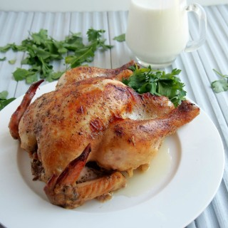 Milk-Braised-Chicken | ComfortablyDomestic.com
