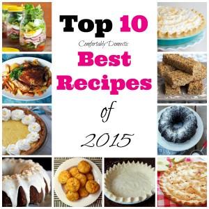 Top 10 Best Recipes of 2015