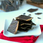 Bacon-Butter-Toffee - Rich, chocolate covered butter toffee with a hint of smoky bacon. | ComfortablyDomestic.com