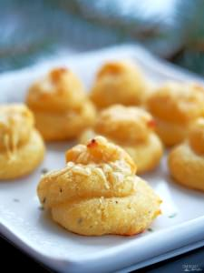 Homemade Cheese Puffs {Cheesy Poofs or Gougères}