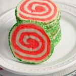 Peppermint-Shortbread-Pinwheel-Cookies - A fun, easy, and festive Christmas cookie recipe | ComfortablyDomestic.com