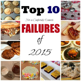 Top-10_Worst-Recipes-2015 - A collection of recipes not fit for publishing in 2015. | ComfortablyDomestic.com