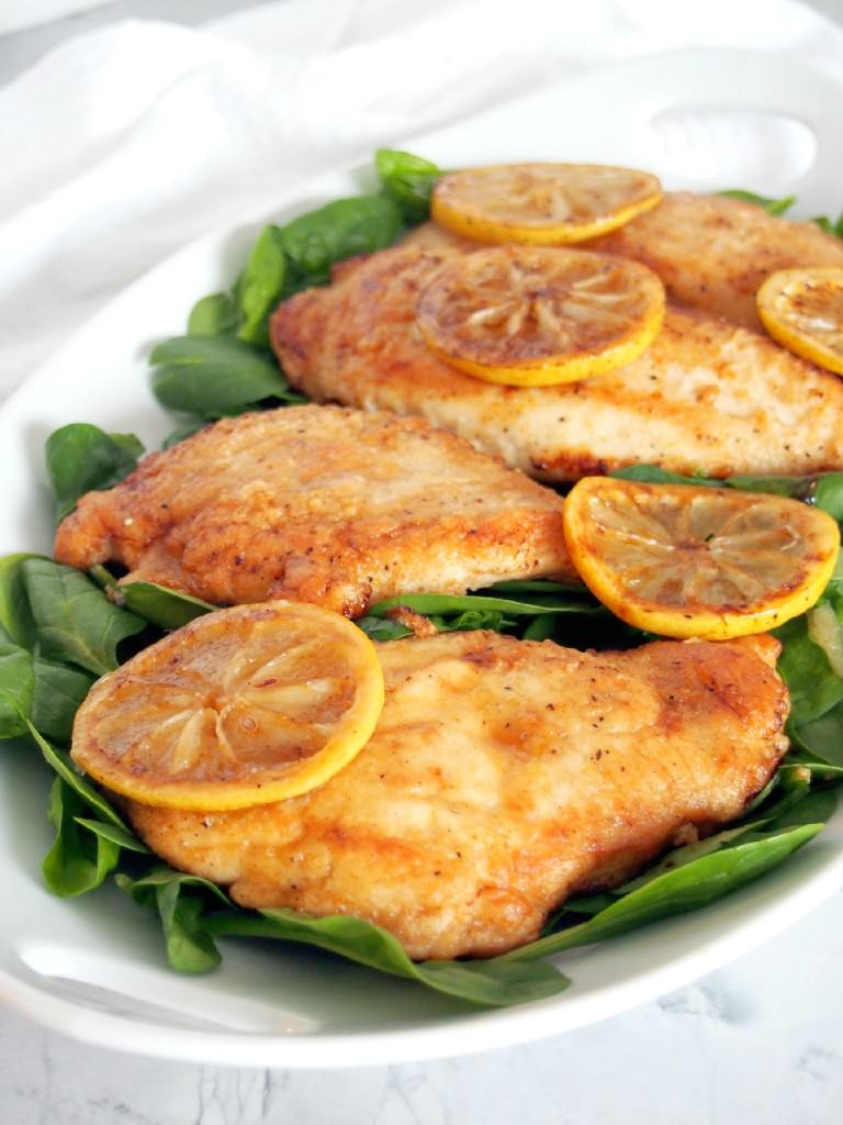Lemon-Butter-Chicken-is-a-lighter-version-of-chicken-piccata-but with-all-the-delicious-flavor-ready-in-30-minutes | ComfortablyDomestic.com
