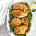 Lemon Butter Chicken {One Pan Dinner}