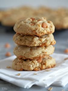 Soft Oatmeal Scotchies Cookies