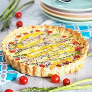 Spring-Vegetable-Quiche-Tart