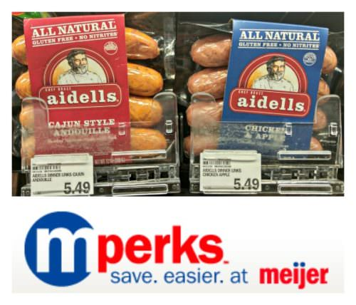 Aidells-Sausage-Meijer-MPerks is all natural, gluten free, and made without nitrites.