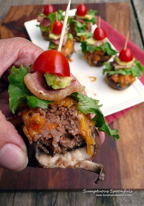 bacon-chipoltle-cheeseburger-mushrooms