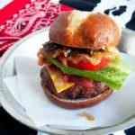 Cowboy Tumbleweed Burger