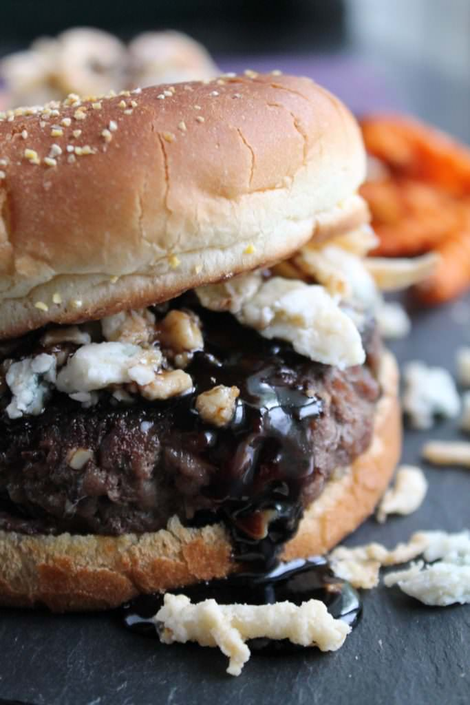 Hard-Root-Beer-Burgers-with-Blue-Cheese-and-Crispy-Onions