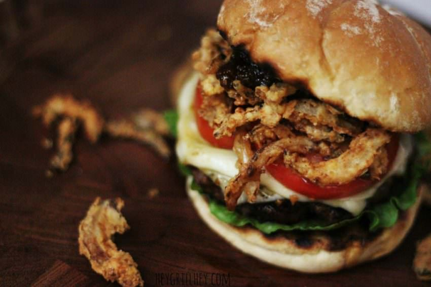 Sweet-Bourbon-Burgers-with-Onion-Straws