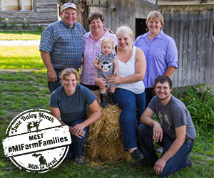 Meet #MIFarmFamilies with Milk-Means-More