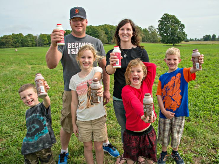 5 Minutes with a Farmer Nu-Dream Dairy Interview with Katie-Dellar  ComfortablyDomestic.com
