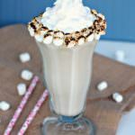 Toasted Marshmallow Milkshakes