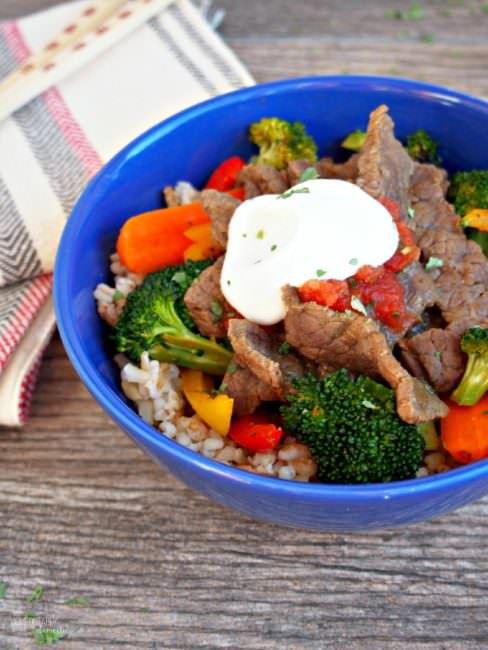 Southwest Steak Stir Fry