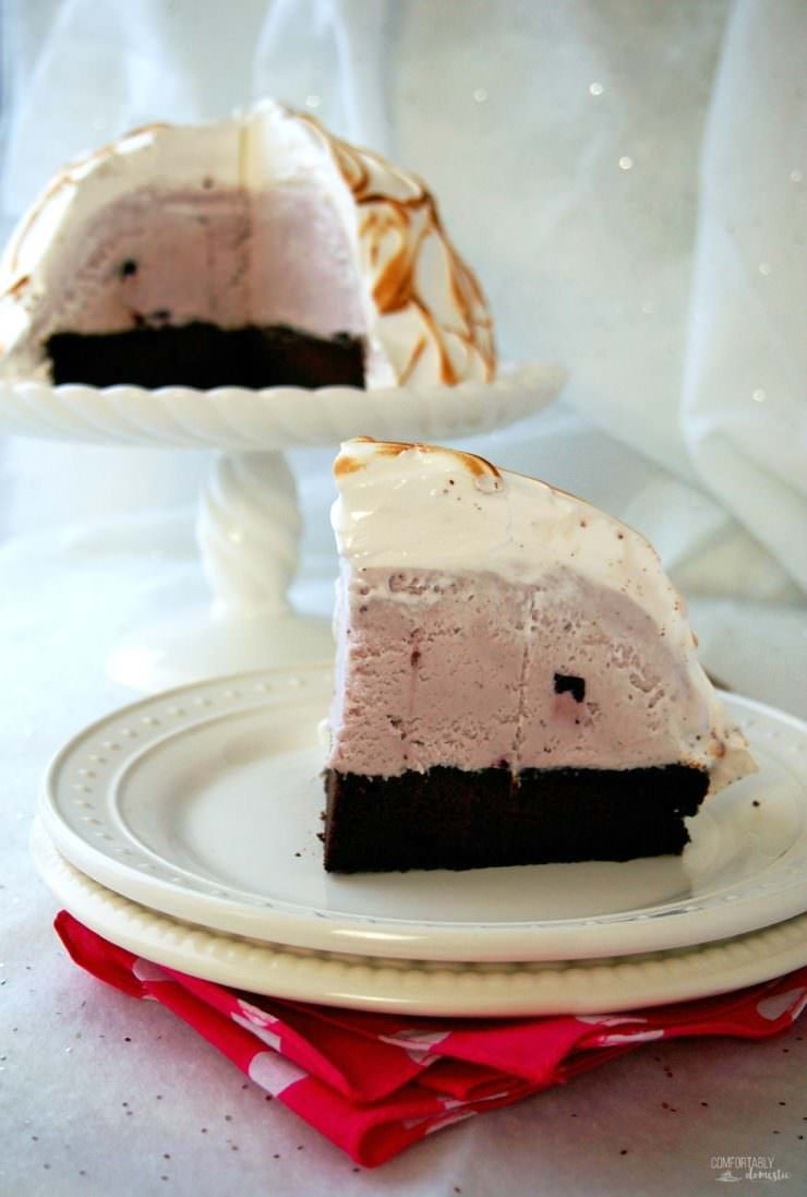 Baked-Alaska is made by encasing layers of tender cake and smooth ice cream in a silky meringue, and then toasting it in the oven. Baked Alaska is a fun and whimsical dessert that is as easy to make as it is impressive to serve.