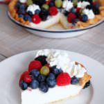 Vanilla Cream Pudding Pie