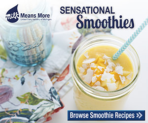 Healthy-Smoothie-Recipes courtesy of #MilkMeansMore
