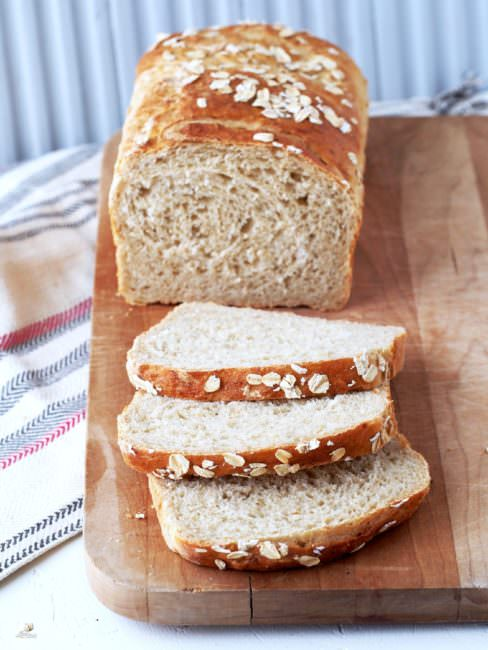 "Leftover-Oatmeal-Bread is a fantastic way to repurpose leftover oatmeal. This hearty bread is so delicious and satisfying that you're liable to ""accidentally"" make too much oatmeal just to have an excuse to make the bread!"
