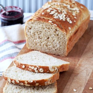 "Leftover Oatmeal Bread is a fantastic way to repurpose leftover oatmeal. This hearty bread is so delicious and satisfying that you're liable to ""accidentally"" make too much oatmeal just to have an excuse to make the bread!"